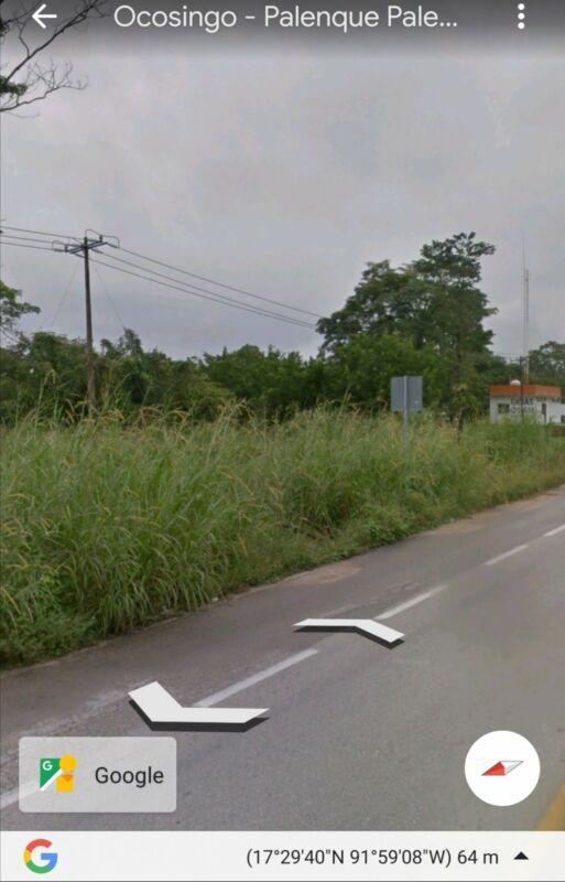 Terreno 5 hectareas en carretera Palenque  Nututum