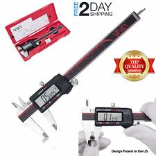Best Digital Caliper Vernier Stainless Steel Electronic Micrometer 6inch150mm