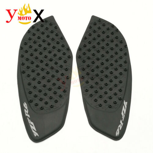 Gas Tank Pad Traction Side Knee Grips Decals Protector For Yamaha YZF R6 2008-15