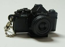 Pentax MX Black Camera Model Toy Keychain with hotshoe mount