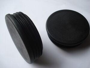 Lote-de-2-conectores-para-el-tubo-redondo-diametro-42mm-tope-aleta-PVC-obturador