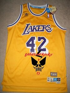 finest selection ac21c a8454 Details about adidas james worthy jersey la lakers retro soul swingman  jersey size large