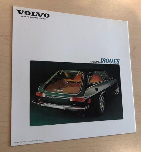 Volvo 1800 1800ES Factory Original Sales Brochure Catalog 1973
