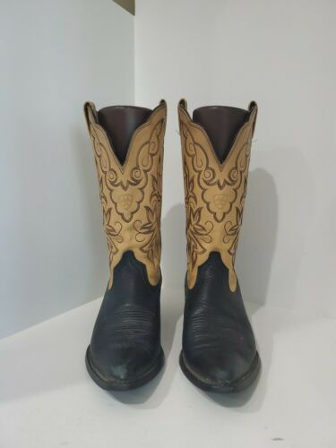 Ariat Womens Multi Color Leather Cowboy Boots Size