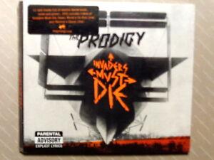THE-PRODIGY-INVADERS-MUST-DIE-CD-2009-DIGIPACK-NUOVO-E-SIGILLATO