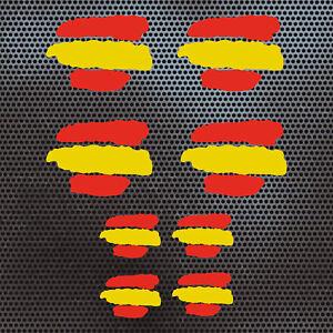 8-x-BANDERA-ESPANA-VINILO-ADHESIVO-PEGATINA-STICKER-coche-moto-casco