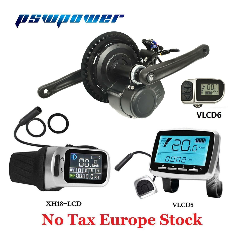 UE tsdz 2 pswpower 48V500W 750W motor de la unidad central de medio Kit de conversión de Bicicleta Eléctrica