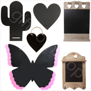 Vintage-Shabby-Chic-Wooden-Kitchen-Chalkboards-Hanging-Message-Board-Blackboards