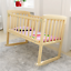 BABY-BED-SIDE-CRIB-NURSERY-NEXT-TO-MUM-NEXT-BED-FROM-BIRTH-COT-MATTRESS thumbnail 3