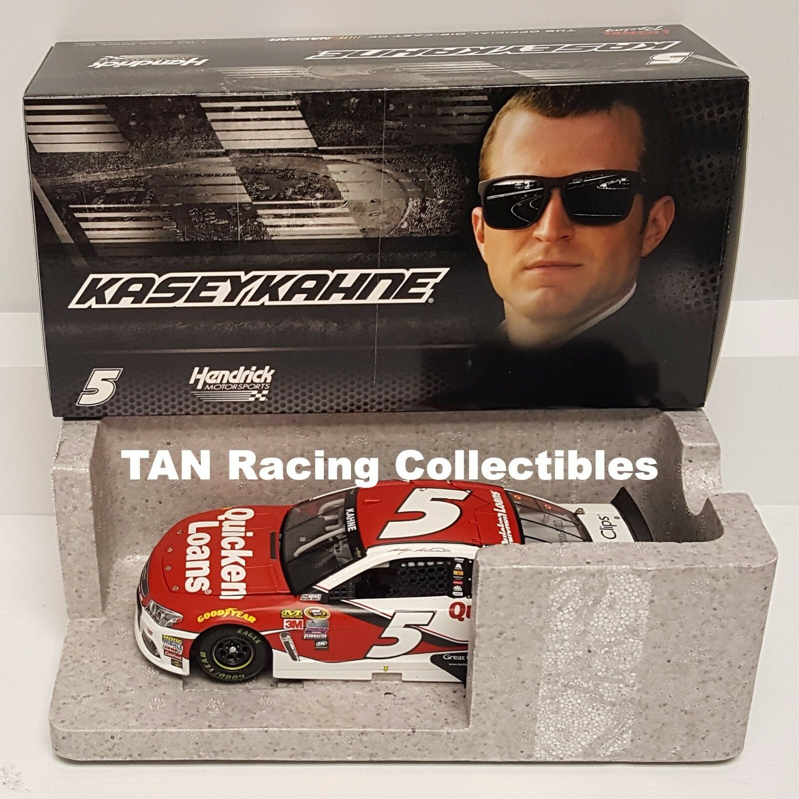 Kasey Kahne 2016 Lionel Action  5 Quicken Loans Chevy SS 1 24 FREE SHIP