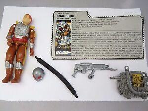 GI Joe Weapon Charbroil Helmet 1988 Original Figure Accessory