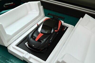 Top Speed Aston Martin Vulcan Matte Black 1 18 New See Description Ebay
