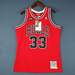 pretty nice 8f553 72ce8 100% Authentic Scottie Pippen Mitchell & Ness Bulls 98 ...