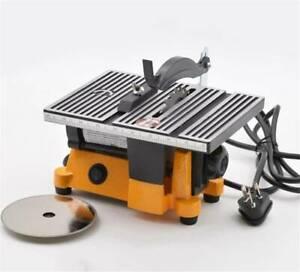 110V Mini Table Saw Bench metal wood glass stone Sawing Cutting machine Cutter