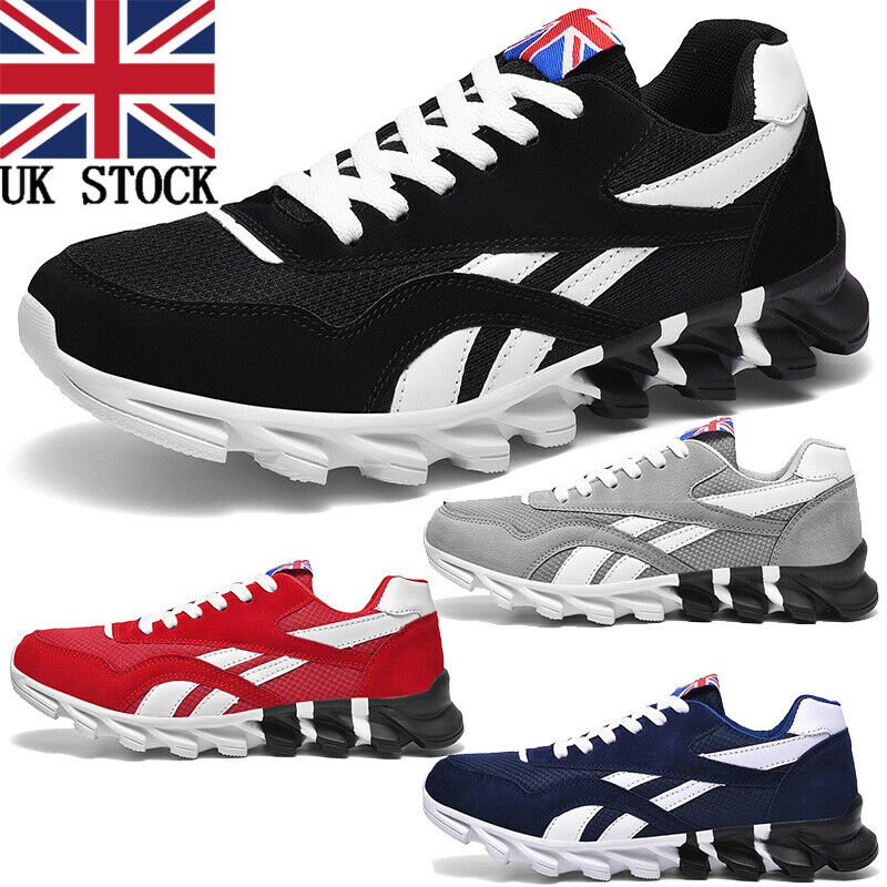 Mens Trainers Outdoor Gym Fitness Sneakers Jogging Workout Shoes Running Tennis