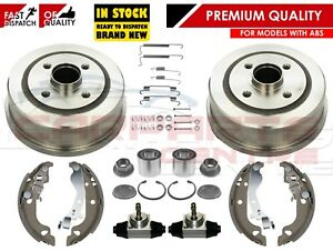 FOR-CORSA-C-MK2-REAR-BRAKE-DRUMS-SHOES-FITTING-KIT-BEARINGS-CYLINDERS-WITH-ABS