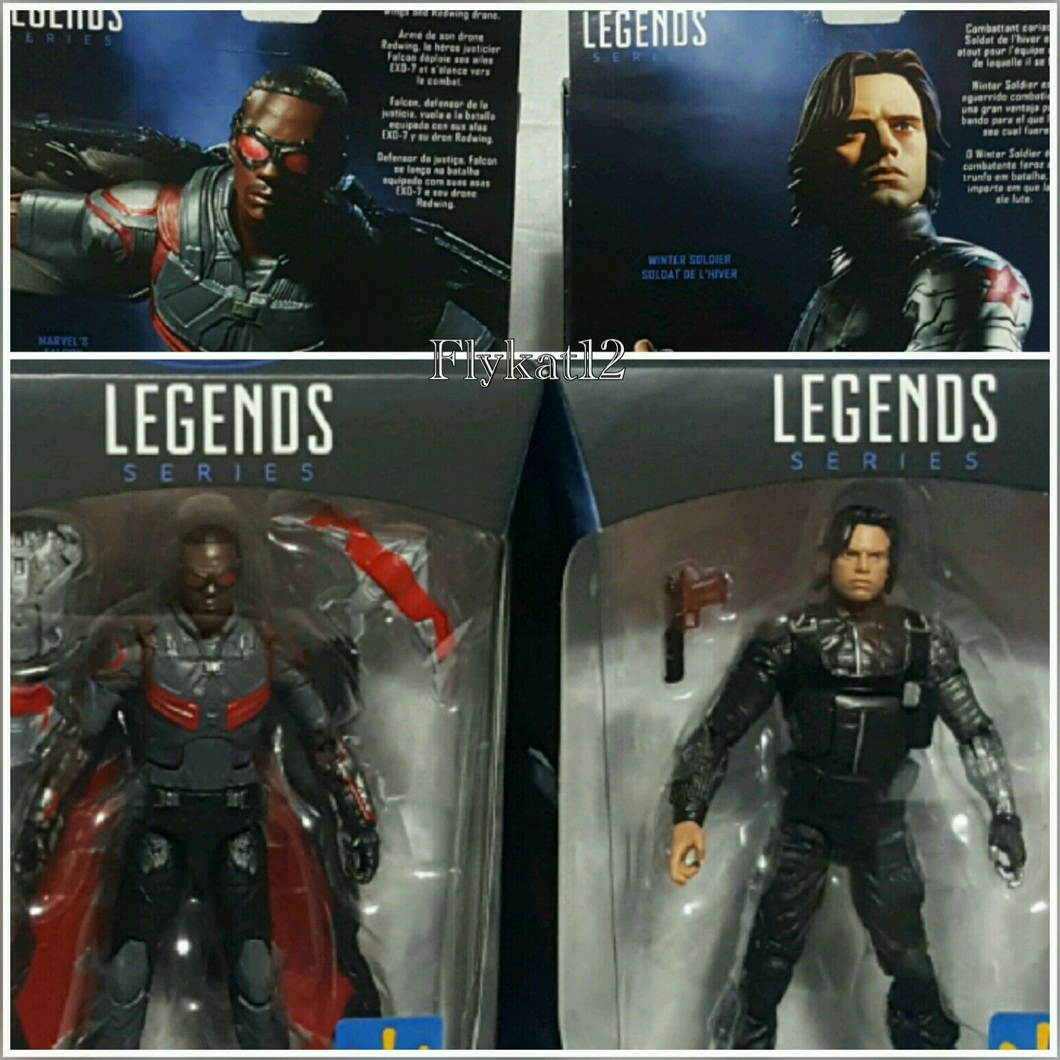 Marvel Legends Captain America Walmart Exclusive Marvel's Falcon Winter Soldier