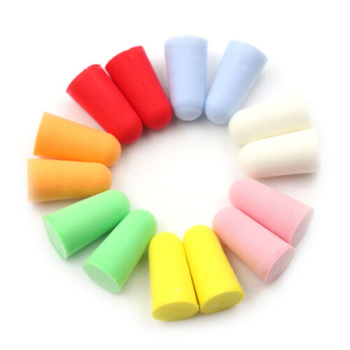 20pcs PU Foam Ear Plugs Anti Noise Snore Earplugs Comfortable For Study Sleep DO