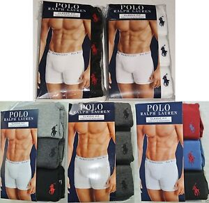 Men's 3 New White Ralph Briefs Red Xl Blue Black Grey Polo Pack Lauren S M Details About Boxer hBoxQdCtsr