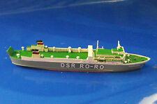 """REMO Schiff 1:1250 DDR RORO-Fährschiff """" FICHTELBERG """" REMO 61 OVP NEUHEIT"""