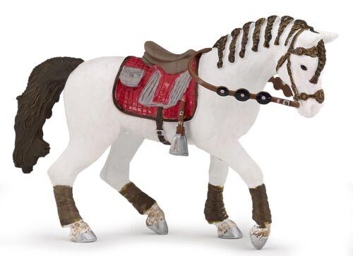Papo caballo del jinete de moda