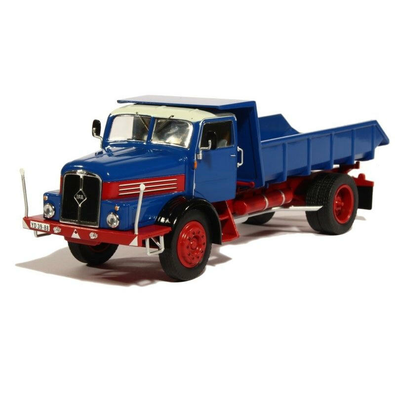 Is 302T IFA H6 Kipper bluee Red YR 1957 Scale 1 43 NEW  °