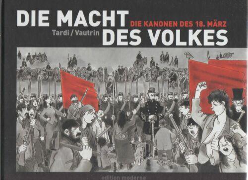 Die Macht des Volkes Hardcover Comic Nr Vautrin 1-4 zur Auswahl von Tardi