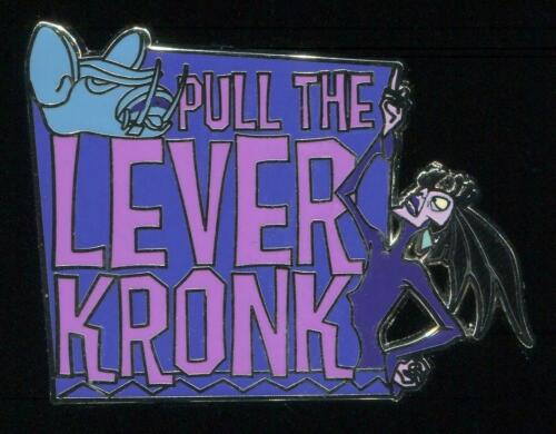Disney Pin 133292 DS Emperor/'s New Groove Set Pull The Lever Kronk