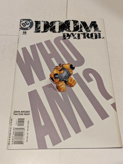 Doom Patrol #9 August 2002 DC Comics John Acudi Huat