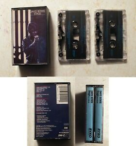 Cassette: David Bowie: Stage: double tape set, rare