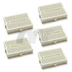 5x White Mini Solderless Prototype Breadboard 170 Tie-points for Arduino Shield