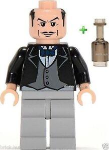 Lego Batman - Alfred The Butler Figure Bouteille Gratuite- 7783 - rare - Meilleur prix - nouveau