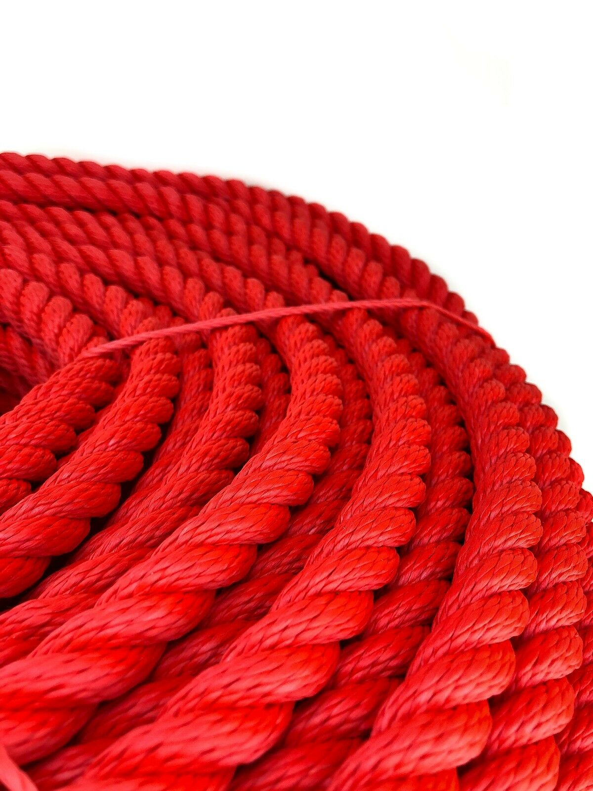 24mm x rot 3-Strang Multifilament x 24mm 20 m (schwimmende Seil) Softline Seil 10eb24
