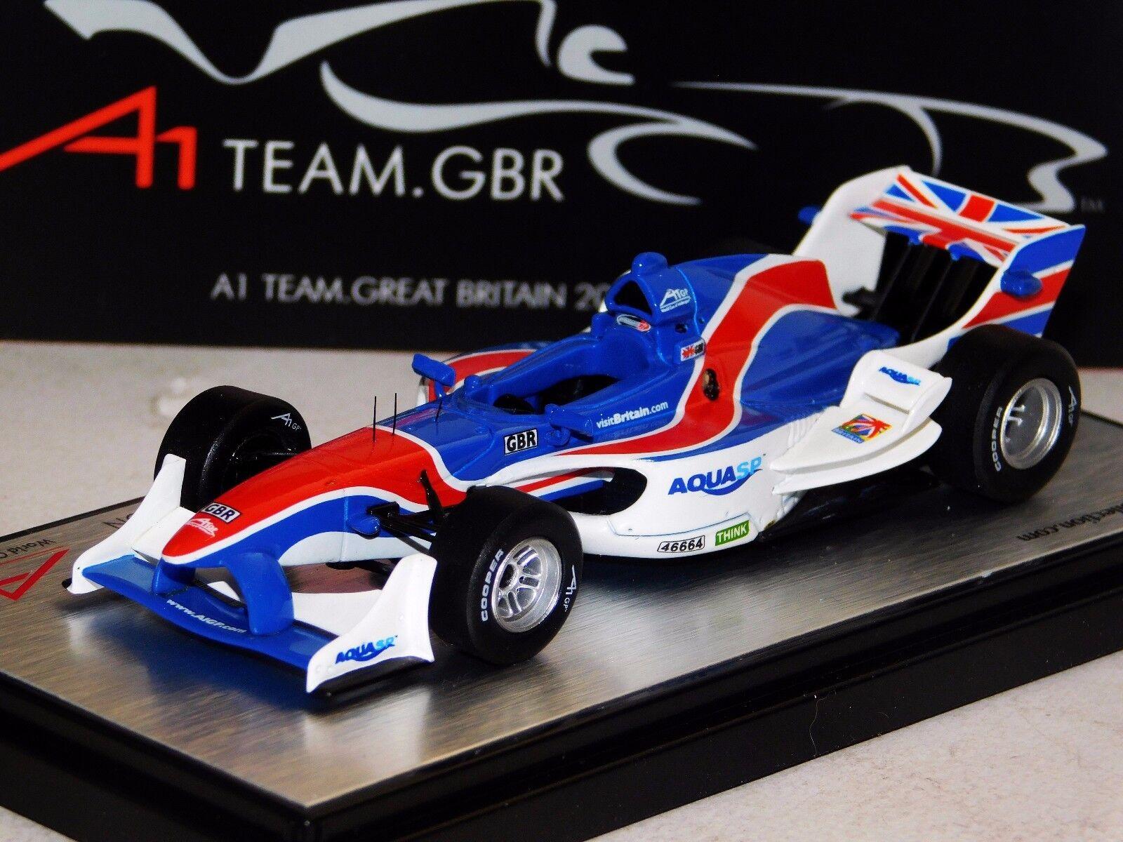 A1 GP FORMULA TEAM GREAT BRITAIN UK 2007   2008 SEASON AMALGAM  1 43