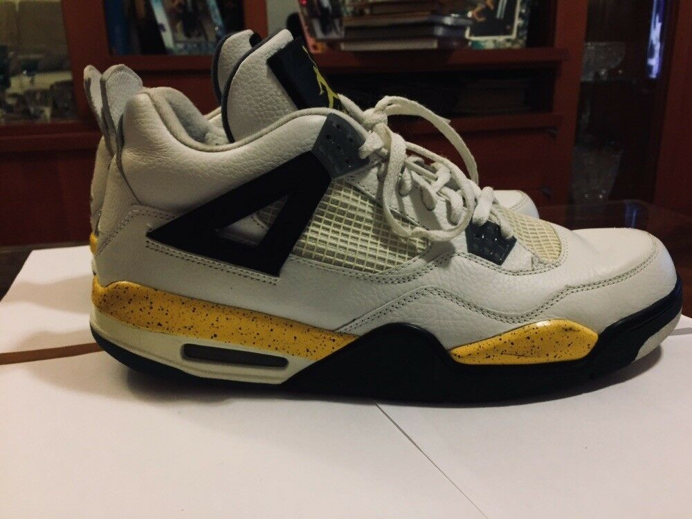 Jordan Tour 4 Yellow Good Condition Size 12 Nike Airmax