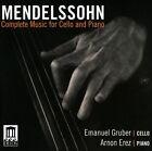 Mendelssohn: Complete Music for Cello & Piano (CD, Jul-2011, Delos)