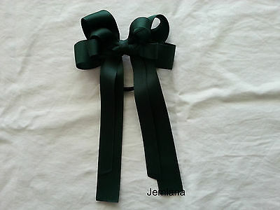 Jemlana's school hair tie (Big size,double bows) for girls...