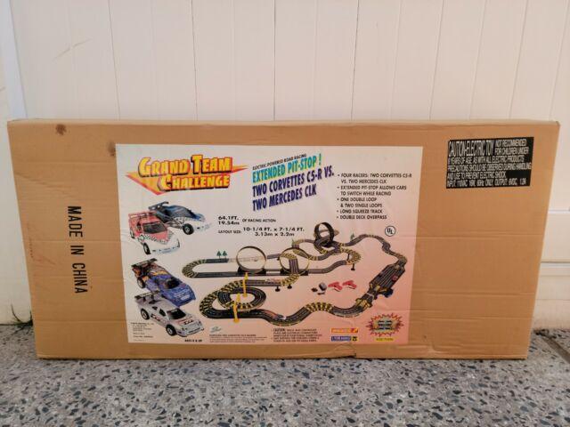 Vintage Artin Grand Team Challenge Slot Car Electric Operated Race Set No.84099J