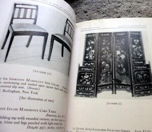 1939 English Xviii Century Furniture Decorations Parke Bernet Ny Auction Catalog Ebay