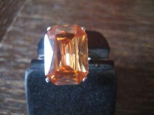 klassisch-eleganter-Mandarintopas-Ring-im-Art-Deco-Stil-925er-Silber-RG-58-59