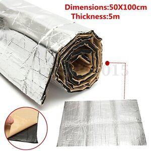 100-x-50cm-Pannello-Fonoassorbente-Autoadesivo-Isolamento-Insonorizzare-Auto