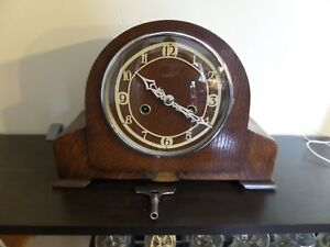 RESTORED-amp-SERVICED-VERY-EARLY-ENFIELD-MANTEL-CLOCK-99-PHOTOS-OF-THE-WORK