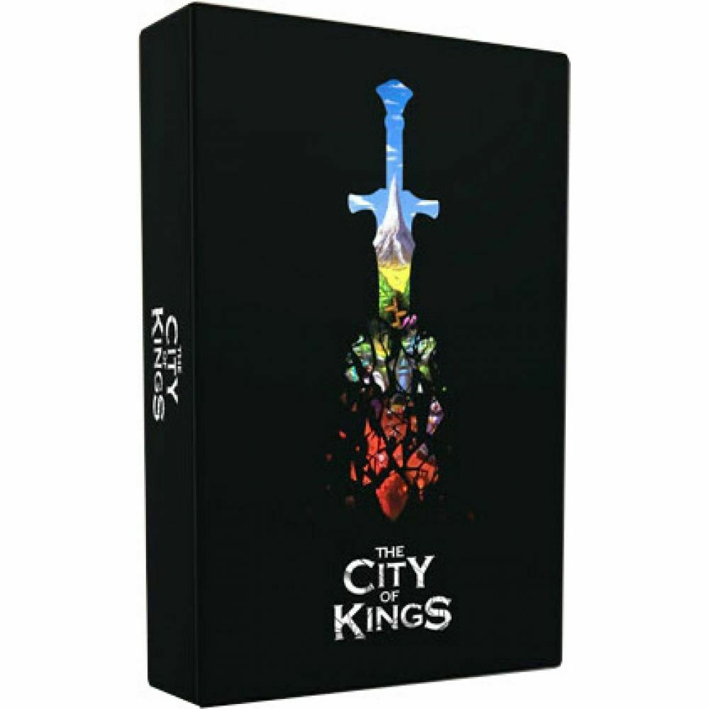 MW  THE CITY OF KINGS COOPERATIVE BOARD GAME -ENGLISH-   2018 THE CITY OF GAMES