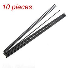 10pcs 3*270mm Fiber Glass Rods for RC Helicopter Wing Tube Quadcopter Fiberglass