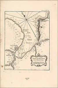 Many Sizes; Map Of Haiti 1764 In French Poster