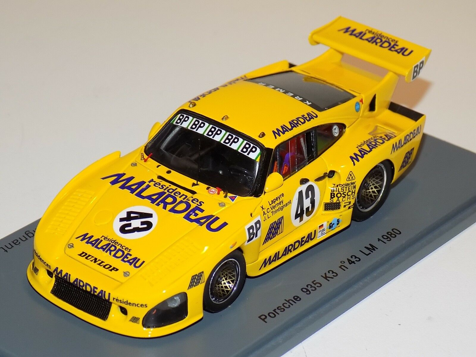 1 43 Spark Porsche 935 K3 Car H of LeMans S2050