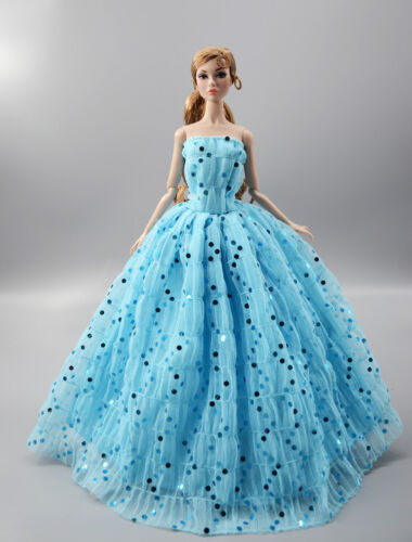 Fashion Princess Party Dress//Evening Clothes//Gown For 11.5 inch Doll b02