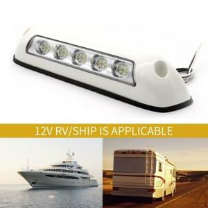 Boat Awning Light RV Caravan 12V LED Waterproof Yacht Camper
