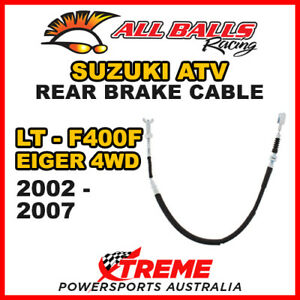 Rear Hand Brake Cable For Suzuki LT-F400F Eiger 4wd 2002-2007