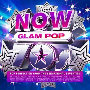 NOW 70s Glam Pop - NOW That's What I Call Music! [CD] Sent Sameday*